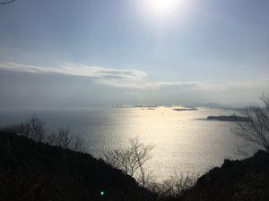 瀬戸内海の向こうに思いを馳せて