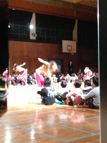 小学校公演、終わりました!/知知
